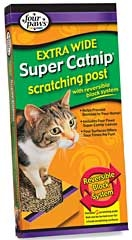 Extra Wide Super Catnip Scratching Post