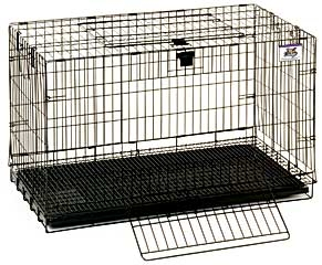 Wire Popup Rabbit Cage 30in