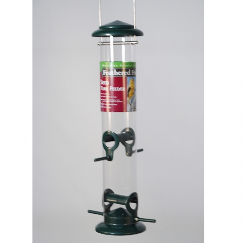 Feathered Friend Seed Tube Feeder