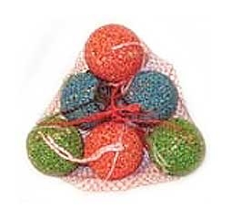 Xmas Balls Seed Cake