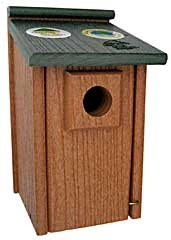 Feathered Friend Going Green Bluebird House