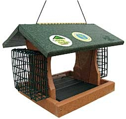 Feathered Friend Going Green Professional Feeder With Suet