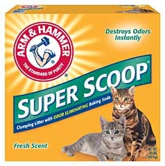 Arm & Hammer Super Scoop Litter Scented 20lb
