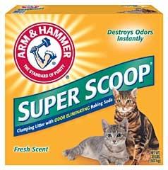 Arm & Hammer Super Scoop Litter Scented 20lb