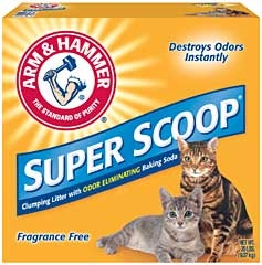 Arm & Hammer Super Scoop Litter Unscented 20lb