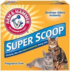 Arm & Hammer Super Scoop Litter Unscented 20lb