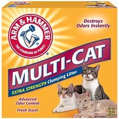 Arm & Hammer Multi-cat Litter Scented 20lb