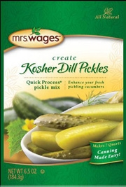 Mrs. Wages Kosher Dill Pickles Mix 6.5oz