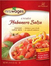 Mrs. Wages Habanero Salsa Mix .8oz