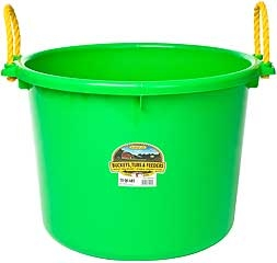 Duraflex Muck Tub Lime Green 70qt