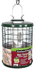 Feathered Friend Caged Bird Seed Feeder Ez Clean Base