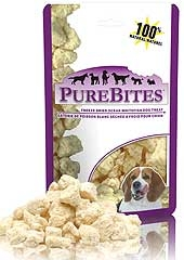 Purebites Ocean Whitefish Dog Treat .85oz