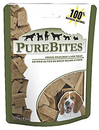 Purebites Beef Liver Dog Treat 8.8oz