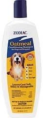 Zodiac Oatmeal Conditioning Shampoo For Dogs & Puppies 18oz