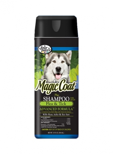 Magic Coat Plus Flea & Tick Shampoo For Dogs & Puppies 16oz