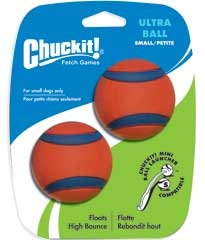 Chuckit! Ultra Ball Small 2/pk