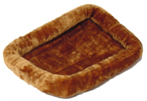 Quiet Time Pet Bed Cinnamon 18 X 12