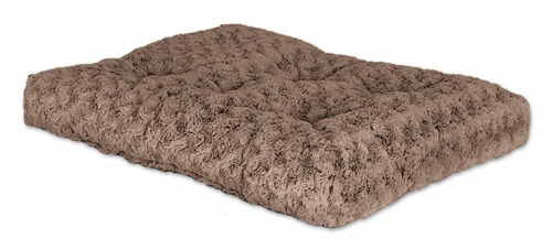 Quiet Time Deluxe Pet Bed Ombre Swirl Taupe Mocha 36in