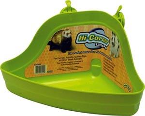 Hi-corner Litter Pan