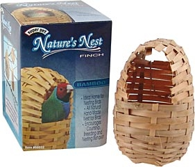 Natures Nest Finch Bamboo