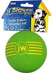 Isqueak Ball Dog Toy Large
