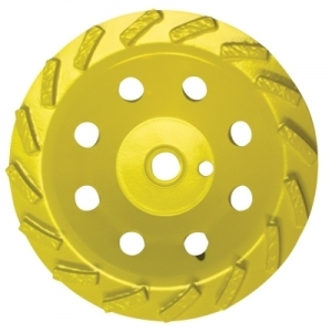 "EDCO  7""Diamond Cupwheel, dry"