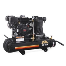 Mi-T-M Corp 20.0 CFM @ 100 PSI 8 Gal Wheelbarrow Compressor