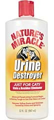 Nature's Miracle Urine Destroyer For Cats 32oz