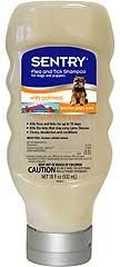 Sentry Oatmeal Flea & Tick Shampoo For Dogs