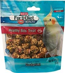 Kaytee Forti-diet Pro Healthy Bits Cockatiel Treat 4.75oz