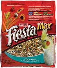 Kaytee Fiesta Max Cockatiel Food 4.5lb