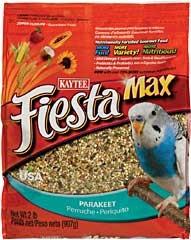Kaytee Fiesta Max Parakeet Food 2lb