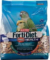 Kaytee Forti-diet Pro Health Conure/lovebird Food 5lb