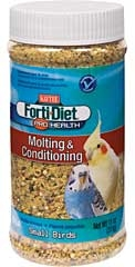 Kaytee Forti-diet Pro Health Molting And Conditioner Bird Food 11oz