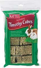 Kaytee Natural Timothy Cubes 1lb