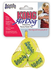 Kong Air Dog Squeakair Tennis Balls Small