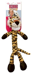 Kong Braidz Squeak Toy Tiger For Dogs Medium