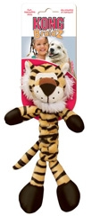 Kong Braidz Squeak Toy Tiger For Dogs Small