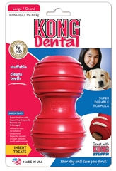 Kong Dental Treat Dispenser For Dogs Large
