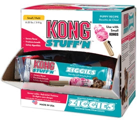 Kong Stuff'n Ziggies Puppy Treats Large