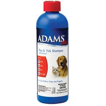 Adams Plus Flea & Tick Shampoo With Precor 12oz