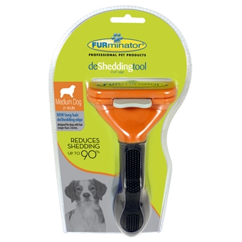 Furminator Long Hair Deshed Tool For Medium Dogs