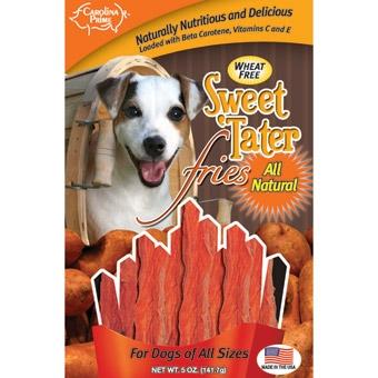 Carolina Prime Sweet Tater Fries For Dogs 5oz