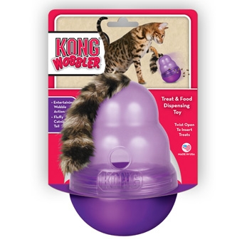 Kong Wobbler Treat & Food Cat Toy