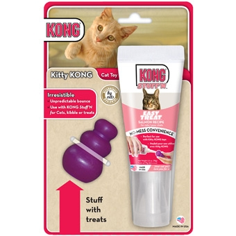 Kong Kitty Kong Treat & Cat Toy Combo