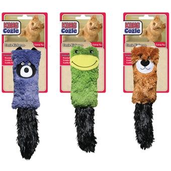 Kong Cozie Kickeroo Catnip Toy