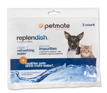 Petmate Replendish Charcoal Filter 3/pk