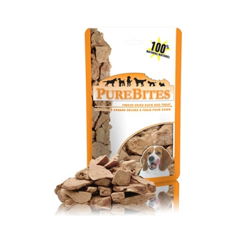 Purebites Freeze Dried Duck Dog Treats 2.6 Oz