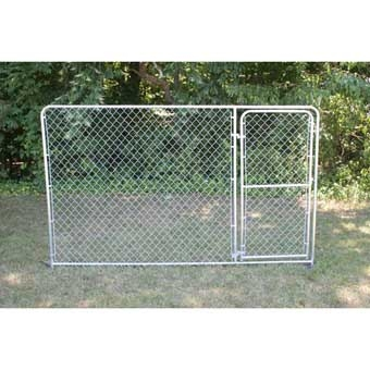 Stephens Pipe & Steel Gate Panel 10ft X 6ft Silver