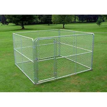 Stephens Pipe & Steel Kennel Complete 10ft X 10ft X 6ft Gold
